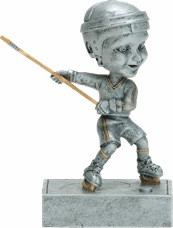 "Ice Hockey ""Rock 'n Bop""  Bobblehead Trophy"