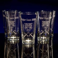 Beer Pint Glasses - Personalized
