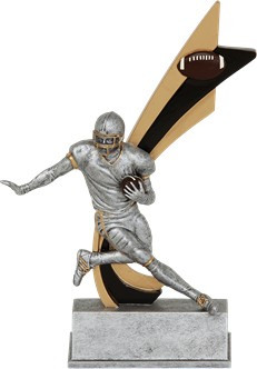 Football Signature Series Live Action Trophy | Football Action Award | 8 Inch Tall