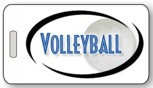 Volleyball Luggage / Bag Tag G02