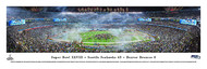 Super Bowl XLVIII Panorama Print (2014) - Unframed