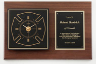 American Tribute Clock Plaque