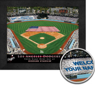 Los Angeles Dodgers Stadium Print - Personalized