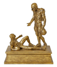 Football National Sportsmanship Trophy | Good Sport Award | 7 Inch Tall