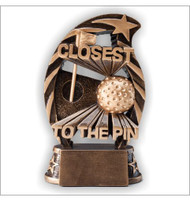 Closest to the Pin Golf Trophy