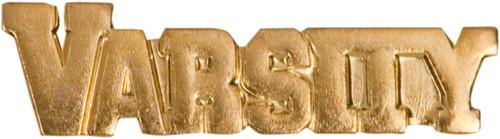 VARSITY Lapel Pin |  Letter Jacket Chenille Pin - Varsity