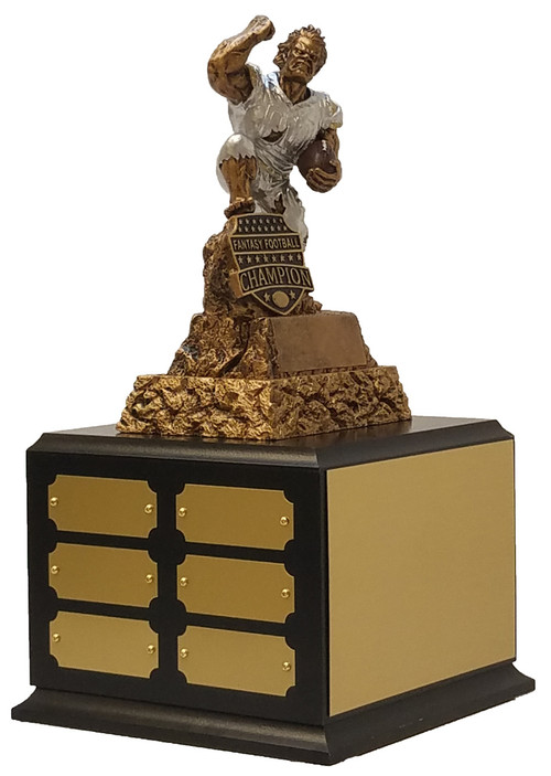 Fantasy Football Champion Monster Perpetual Trophy | FFL Perpetual Award |  11 25 Inch Tall - Exclusive