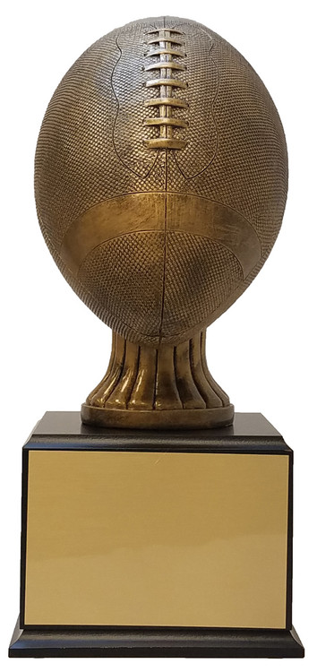 Football Champion Perpetual Trophy | Gridiron Perpetual Award | 15 5 Inch  Tall