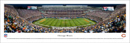 Chicago Bears Panorama Print #4 (50 Yard - Night) - Unframed