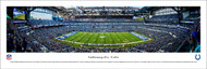 Indianapolis Colts Panorama Print #2 (50 Yard) - Unframed