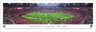 Atlanta Falcons Panorama Print #3 (50 Yard) - Unframed