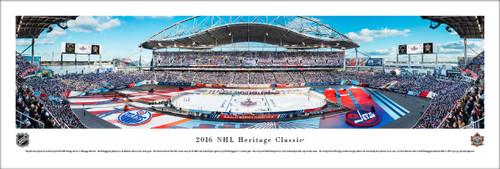 2016 Heritage Classic Panorama Print - Unframed
