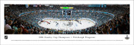 2016 Stanley Cup Championship Panorama Print - Unframed