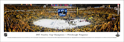 Stanley Cup Championship Panorama Print - Unframed
