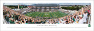 Colorado State University Panorama Print #1 (50 Yard - Day) - Unframed