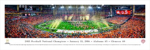 2015 CFP Championship Panorama Print - Unframed