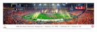 2016 CFP Championship Panorama Print - Unframed