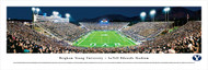 Brigham Young University Panorama Print #2 (End Zone) - Unframed