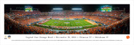 2015 Orange Bowl Panorama Print - Unframed