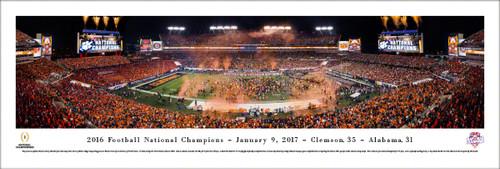 2017 CFP Championship Panorama Print - Unframed