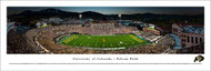 University of Colorado Panorama Print #2 (50 Yard) - Unframed