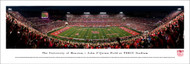 University of Houston Panorama Print #2 (50 Yard - Night) - Unframed