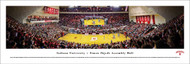 Indiana University Panorama Print #4 (Basketball) - Unframed