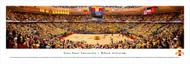 Iowa State University Panorama Print #4 (Basketball) - Unframed