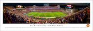 Iowa State University Panorama Print #5 (50 Yard) - Unframed