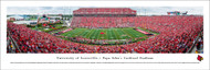 University of Louisville Panorama Print #4 (50 Yard) - Unframed