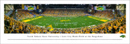 North Dakota State Panorama Print #4 (50 Yard) - Unframed
