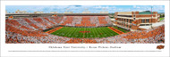 Oklahoma State University Panorama Print #5 (50 Yard) - Unframed