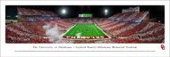 University of Oklahoma Panorama Print #7 (End Zone) - Unframed