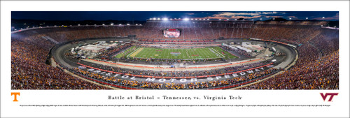 2016 Battle at Bristol Panorama Print - Unframed