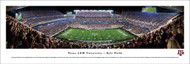 Texas A&M University Panorama Print #5 (50 Yard - Night) - Unframed
