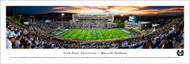 Utah State University Panorama Print #1 (50 Yard) - Unframed