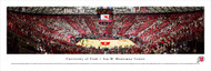 University of Utah Panorama Print #6 (Basketball) - Unframed