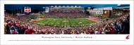 Washington State University Panorama Print #3 (50 Yard) - Unframed