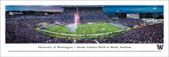 University of Washington Panorama Print #6 (50 Yard - Twilight) - Unframed