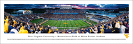West Virginia University Panorama Print #6 (50 Yard) - Unframed