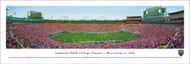 2016 Lambeau Field College Classic Panorama Print - Unframed