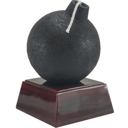 Bomb Trophy | Da Bomb Award | 5.5 Inch - Decade Awards Exclusive