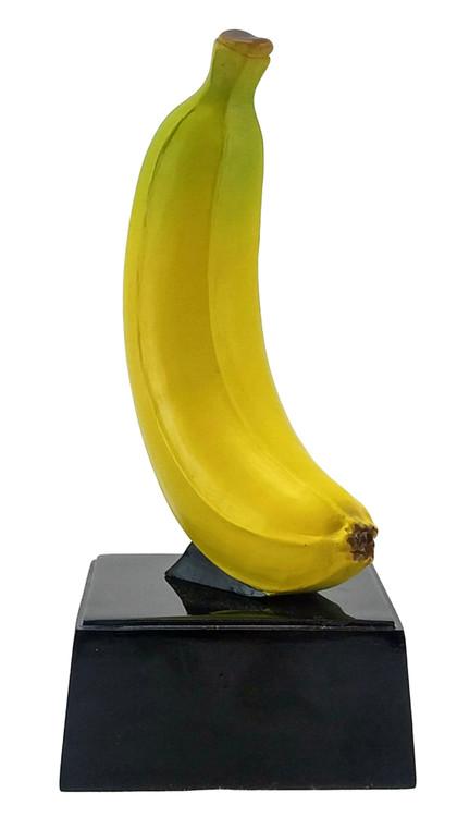 "Banana Trophy on Black Base | Big Banana Award | Top Banana Trophy - 7"""