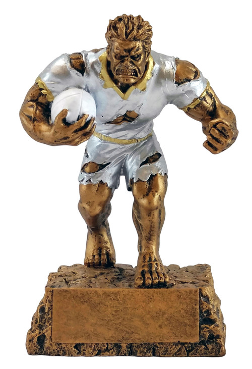 Monster Rugby Trophy | Triumphant Beast Award – 6.5""