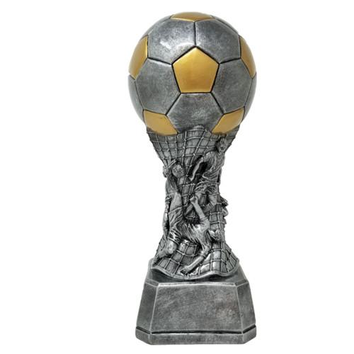 "Soccer Team Tower Trophy   Engraved Soccer Award   Trofeo de Fútbol Grabado - 9"""