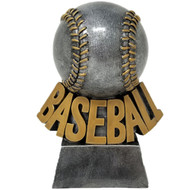 Baseball Trophy | Detailed Stitched Baseball Award - 5.5""
