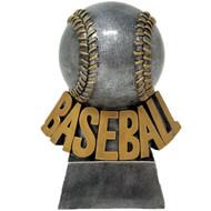 "Baseball Trophy | Engraved Detailed Stitched Baseball Award - 5.5"""