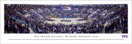 Texas Christian University Panorama Print #5 (Basketball) - Unframed