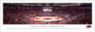 University of Arkansas Panorama Print #6 (Basketball) - Unframed