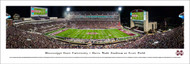 Mississippi State University Panorama Print #6 (50 Yard) - Unframed